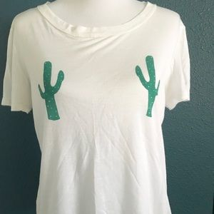 Fun Urban Outfitters brand cacti T